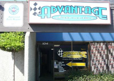 Advantage Automotive outside