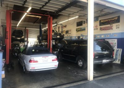 Busy day at Advantage Automotive
